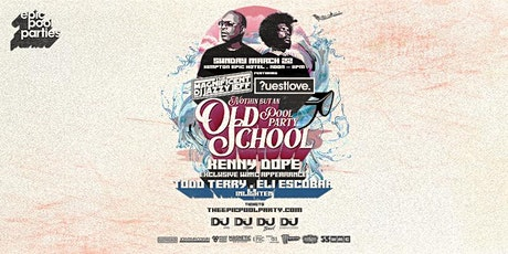 Nothin but an Old School Pool Party // Jazzy Jeff // Questlove tickets