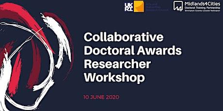M4C CDA Researcher Workshop tickets