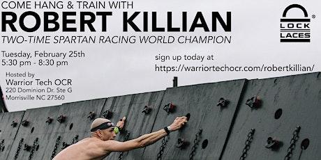 Spartan World Champion Robert Killian Workshop! (FREE) tickets