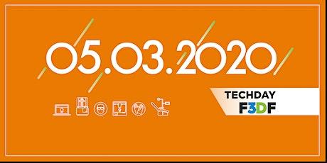 Techday F3DF - Numérisation des métiers du dentaire billets