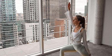 Yoga avec vue | Yoga with a view billets