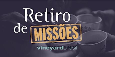 Retiro de Missões Vineyard Brasil ingressos