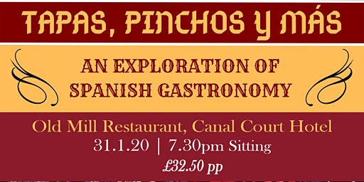 Copy of Tapas, Pinchos y Mas - Spanish Tasting Evening, Newry