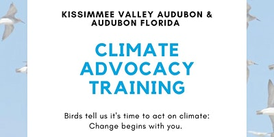 Climate Advocacy Training