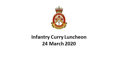Infantry Curry Luncheon tickets