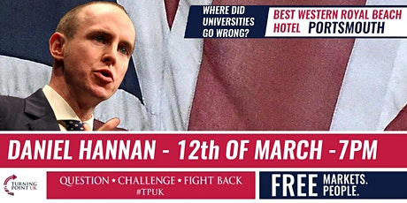 Dan Hannan at Portsmouth - TPUK Live tickets