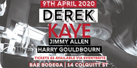 Bar Bodega Presents: Derek Kaye tickets