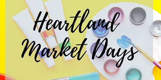 Vendors wanted for the Heartland Market Days and Farmer's Market!