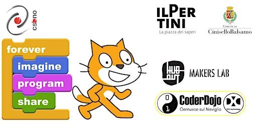 Scratch! Piccoli Coder crescono CoderDojo@DXC @HuboutMakersLab 21 marzo 2020