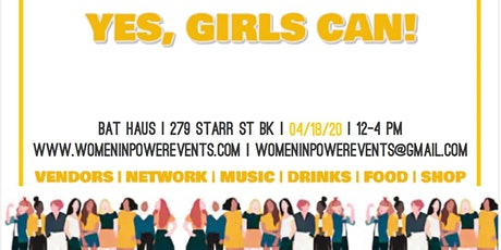 VENDOR CALL- Yes, Girls Can! tickets