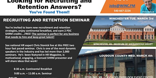 Recruiting and Retention Seminar