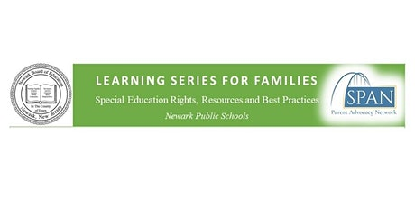 Newark BOE Learning Series For Families tickets