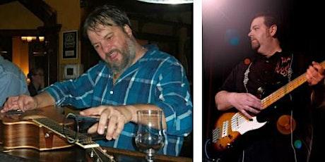 BLUES @ Mark Crissinger & Jay Stevens acoustic duo.  billets