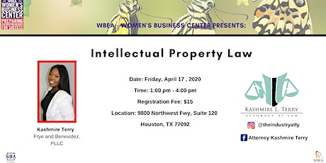 Intellectual Property  Law tickets