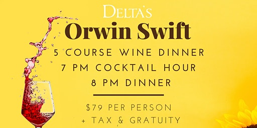 Delta's Orin Swift Wine 5-Course Dinner