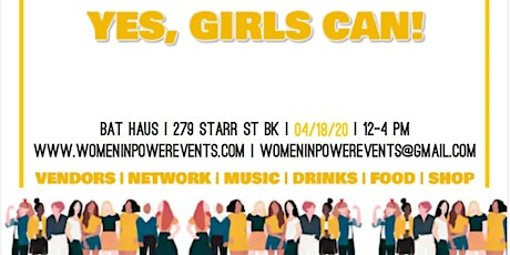 VENDOR EVENT- Yes, Girls Can! tickets