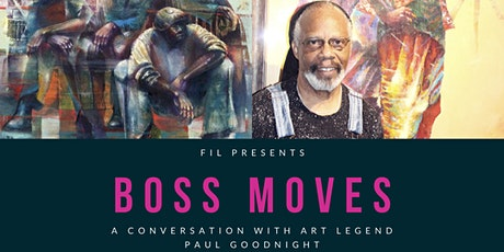 """BOSS MOVES"" Mixer & Fireside Chat with Paul Goodnight tickets"