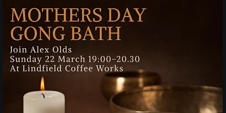 Mothers Day Gong Bath tickets