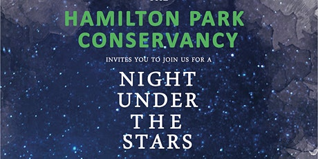 Hamilton Park Conservancy's Night Under the Stars - 2020 tickets