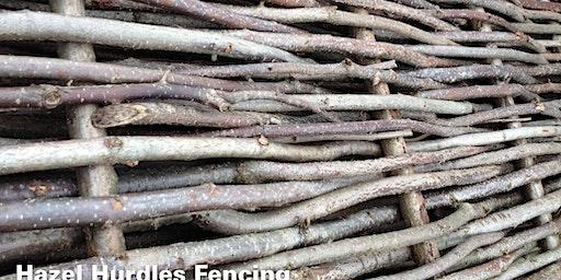 Wattle Hurdle Garden Edging/Fence making