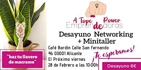 Desayuno Networking para Mujeres Emprendedoras entradas