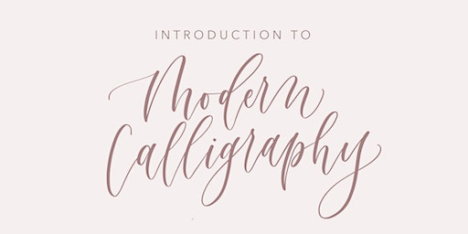 Intro to Modern Calligraphy @ Mimosa Goods in Bordentown, NJ
