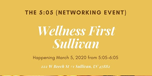 """Sullivan Co Chamber Networking Event """"The 5:05"""""""