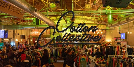 Cotton Collective Vintage Market Sunday March 22nd POSTPONED tickets