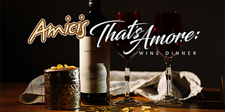 THAT'S AMORE: March Wine Dinner at Amici's Suffolk tickets