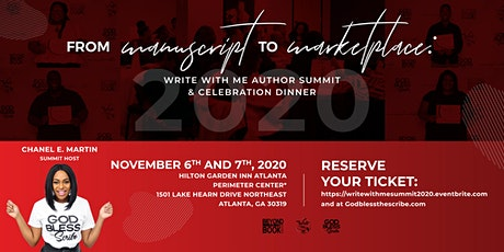 Manuscript to Marketplace: Author Summit & Celebration Dinner tickets