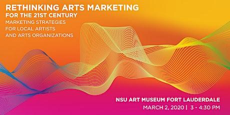 Rethinking Arts Marketing for the 21st Century tickets