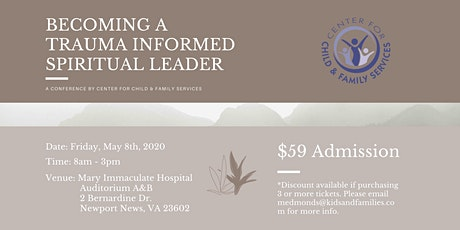 Becoming a Trauma Informed Spiritual Leader tickets