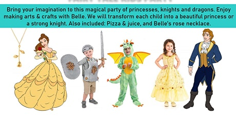 Fairy tale kids party tickets