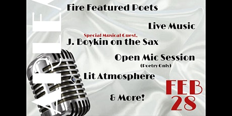 "Floasis presents ""Harlem Nights"" Spoken Word Event tickets"
