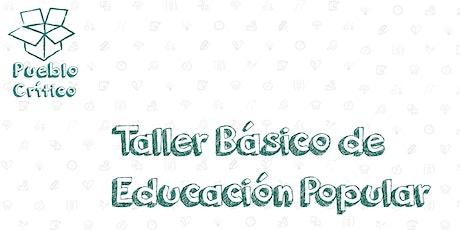 Taller Básico de Educación Popular entradas