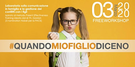 #QUANDOMIOFIGLIODICENO tickets