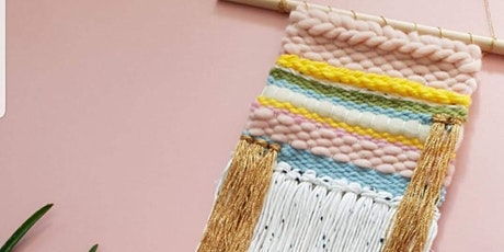 Wall hanging weave workshop tickets