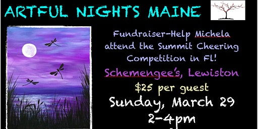 FUNdraiser-Painting for Michela to go to Summit Cheerleading Competition in FL
