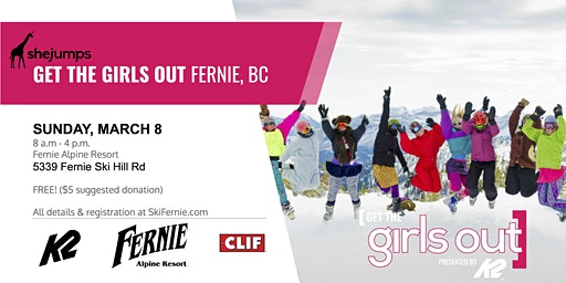BC Get the Girls Out! Fernie 2020