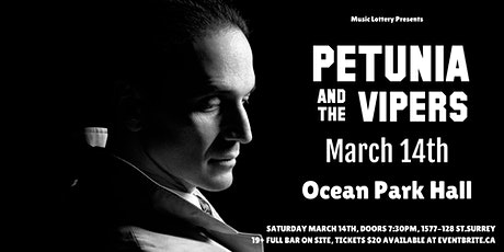 Petunia and the Vipers tickets