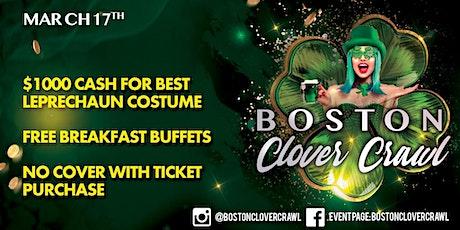Boston Clover Crawl tickets