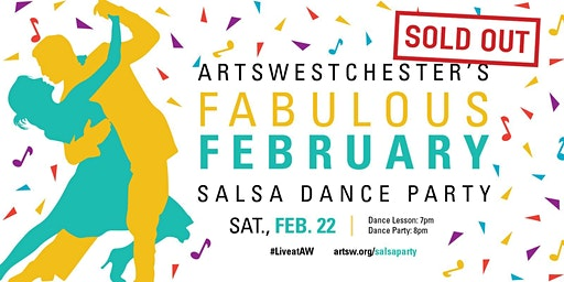 SOLD OUT | Salsa Dance Party at ArtsWestchester
