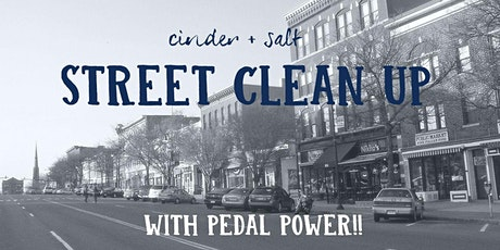 Cinder + Salt Street Clean-Up in Collaboration with Pedal Power tickets