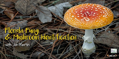 Florida Fungi and Mushroom Identification with Jon Martin tickets