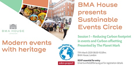 BMA House presents Sustainable Events Circle  tickets