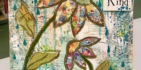 Mixed Media - Be Kind w/Pam tickets