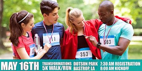 Morehouse Parish 5K Transformation Walk/Run tickets