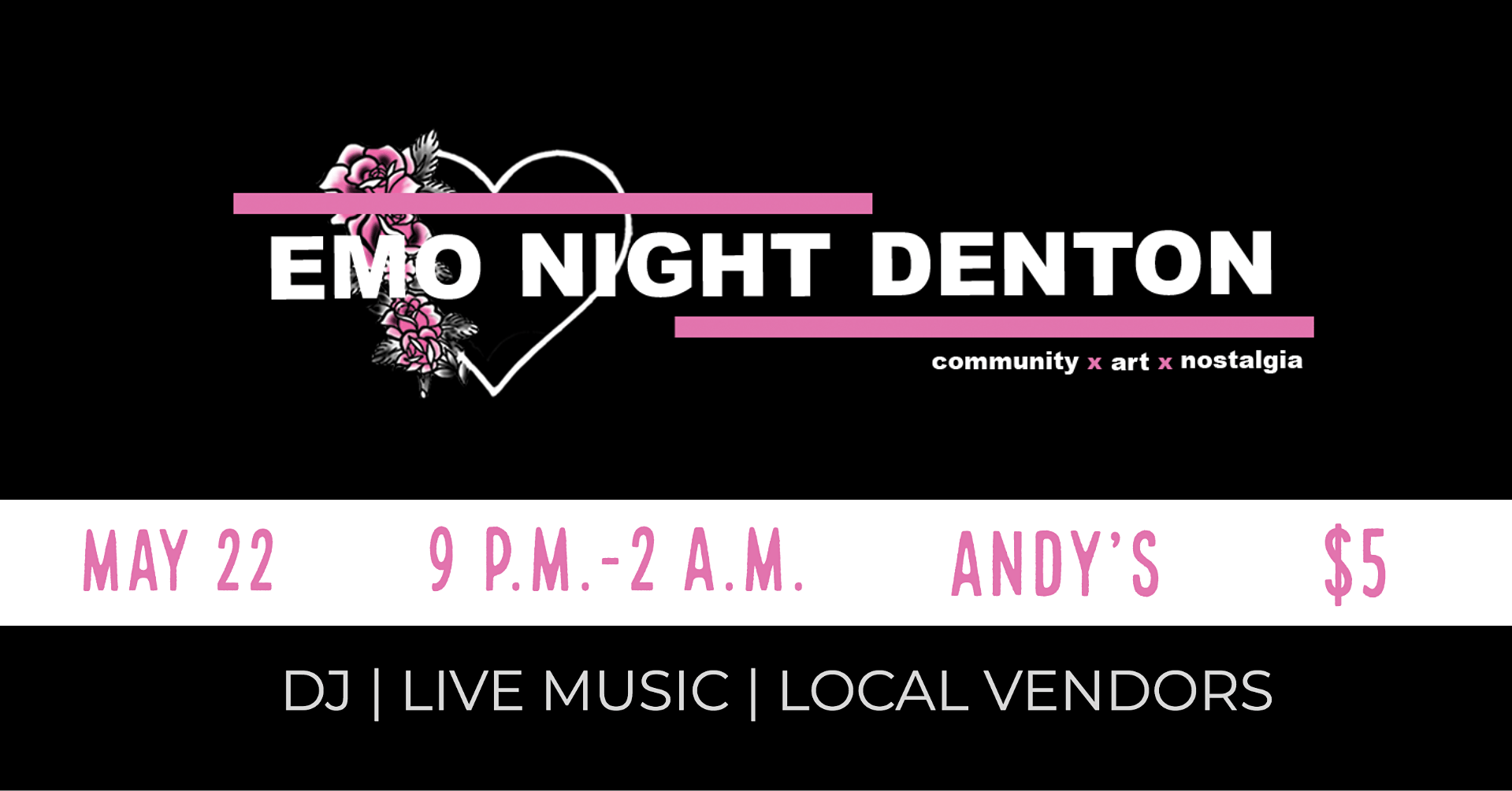 Emo Night Denton