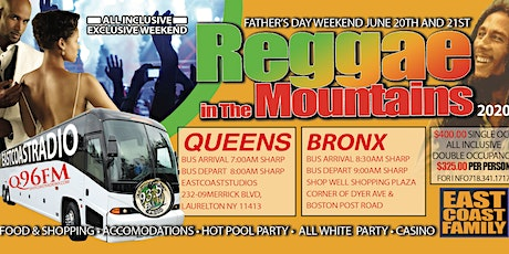 Reggae in the Mountains 2020 tickets