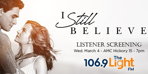 "The Light FM's ""I Still Believe"" Listener Screening"
